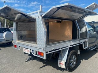 2019 Mazda BT-50 UR0YG1 XT Silver 6 Speed Sports Automatic Cab Chassis