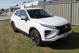 2021 Mitsubishi Eclipse Cross YB MY21 ES 2WD White 8 Speed Constant Variable Wagon.
