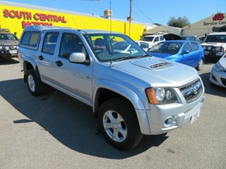 2009 Holden Colorado RC MY10 LX (4x4) Silver 5 Speed Manual Crew Cab Pickup.