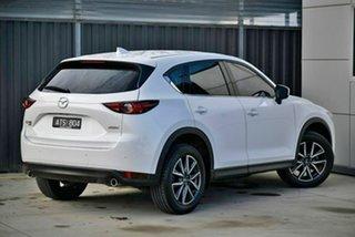 2018 Mazda CX-5 KF4WLA Akera SKYACTIV-Drive i-ACTIV AWD White 6 Speed Sports Automatic Wagon