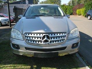 2006 Mercedes-Benz ML350 W164 Luxury (4x4) Silver 7 Speed Automatic G-Tronic Wagon.