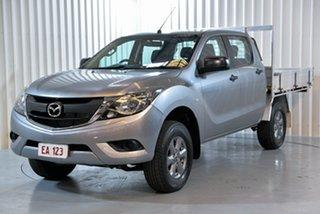 2016 Mazda BT-50 UR0YF1 XT Silver 6 Speed Sports Automatic Utility.