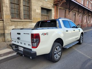 2015 Ford Ranger PX MkII Wildtrak Double Cab Cool White 6 Speed Sports Automatic Utility