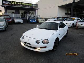 1999 Toyota Celica SX-R Alabaster White 4 Speed Automatic Liftback.
