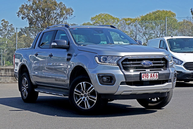 Used Ford Ranger PX MkIII 2020.25MY Wildtrak Ebbw Vale, 2020 Ford Ranger PX MkIII 2020.25MY Wildtrak Silver 10 Speed Sports Automatic Double Cab Pick Up