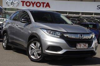 2019 Honda HR-V MY20 VTi Silver 1 Speed Constant Variable Hatchback.