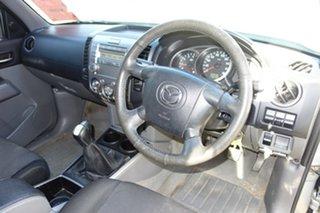 2010 Mazda BT-50 UNY0E4 SDX Silver 5 Speed Manual Utility