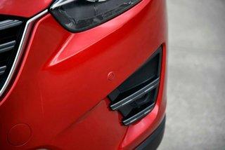 2015 Mazda CX-5 KE1022 Grand Touring SKYACTIV-Drive AWD Red 6 Speed Sports Automatic Wagon