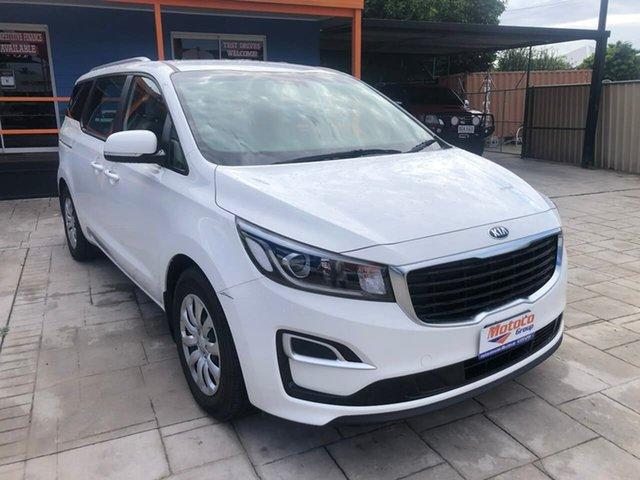 Used Kia Carnival YP MY19 S Mundingburra, 2018 Kia Carnival YP MY19 S White 8 Speed Sports Automatic Wagon