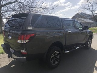 2018 Mazda BT-50 UR0YG1 XTR 4x2 Hi-Rider Bronze Brown/cloth 6 Speed Manual Utility.