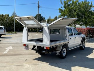 2004 Ford Courier PG GL Crew Cab White 5 Speed Manual Cab Chassis