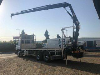 2008 DAF CF 75.360 White Crane Truck 9.2l