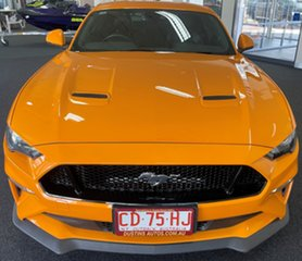 2019 Ford Mustang FN 2019MY GT Orange 10 Speed Sports Automatic Fastback