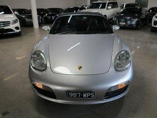 2005 Porsche Boxster 987 MY05 Silver 5 Speed Manual Convertible.