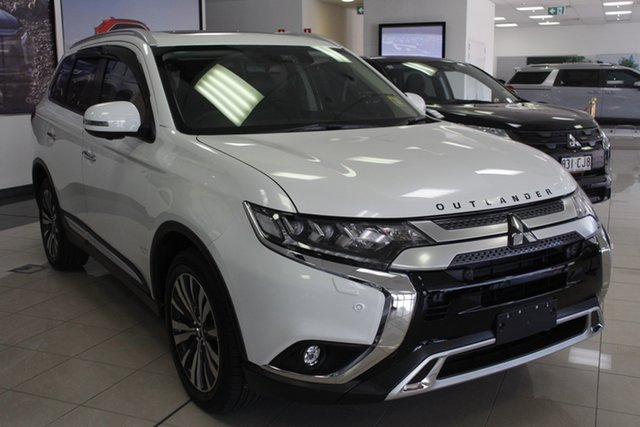 Demo Mitsubishi Outlander ZL MY21 Exceed AWD Mount Gravatt, 2021 Mitsubishi Outlander ZL MY21 Exceed AWD Starlight 6 Speed Sports Automatic Wagon