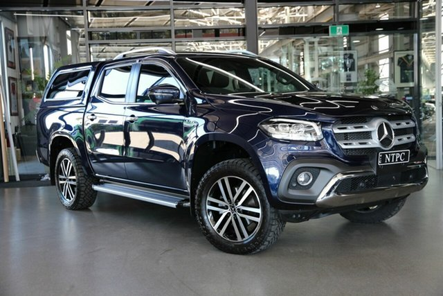 Used Mercedes-Benz X-Class 470 X350d 7G-Tronic + 4MATIC Power North Melbourne, 2020 Mercedes-Benz X-Class 470 X350d 7G-Tronic + 4MATIC Power Blue 7 Speed Sports Automatic Utility