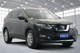 2017 Nissan X-Trail T32 ST-L X-tronic 2WD Black 7 Speed Constant Variable Wagon.