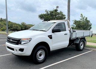 2012 Ford Ranger PX XL Alaskan White 6 Speed Manual.