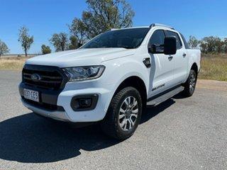 2018 Ford Ranger PX MkIII 2019.00MY Wildtrak Frozen White 6 Speed Sports Automatic Utility