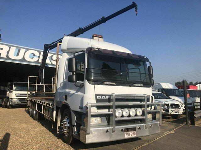 Used DAF Rocklea, 2008 DAF CF 75.360 White Crane Truck 9.2l