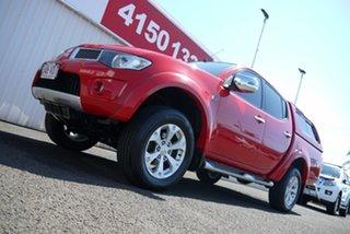 2014 Mitsubishi Triton MN MY15 GLX-R Double Cab Red 5 Speed Sports Automatic Utility.