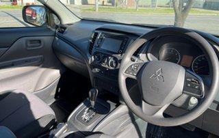 2017 Mitsubishi Triton White Automatic Utility