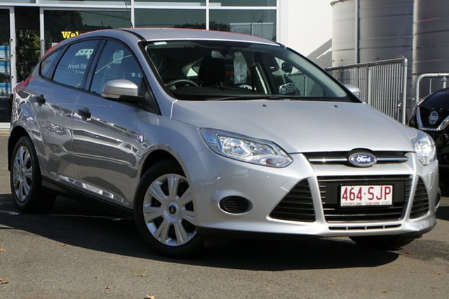 Used Ford Focus LW MkII Ambiente PwrShift Toowoomba, 2012 Ford Focus LW MkII Ambiente PwrShift Silver 6 Speed Sports Automatic Dual Clutch Hatchback