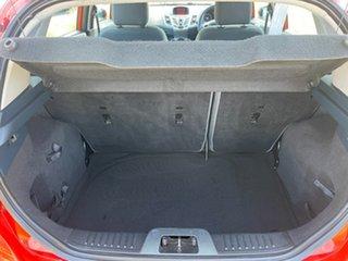 2012 Ford Fiesta WT CL PwrShift Orange 6 Speed Sports Automatic Dual Clutch Hatchback