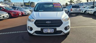 2017 Ford Escape ZG 2018.00MY Ambiente White 6 Speed Sports Automatic SUV.