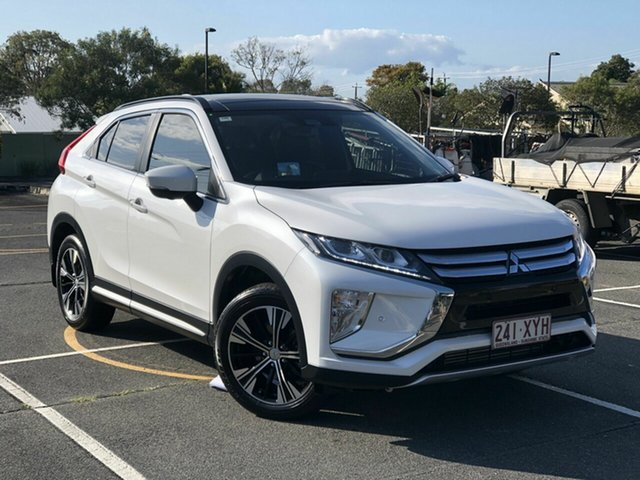 Used Mitsubishi Eclipse Cross YA MY18 Exceed 2WD Chermside, 2017 Mitsubishi Eclipse Cross YA MY18 Exceed 2WD White 8 Speed Constant Variable Wagon