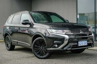 2020 Mitsubishi Outlander ZL MY20 Black Edition 2WD Black 6 Speed Constant Variable Wagon.