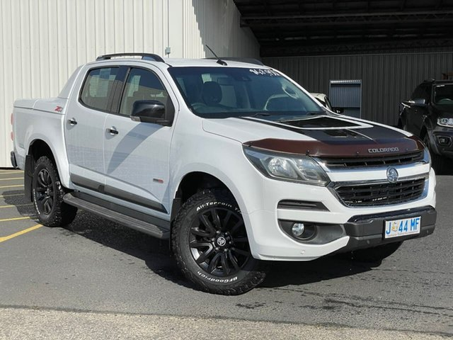 Used Holden Colorado RG MY17 Z71 Pickup Crew Cab Moonah, 2017 Holden Colorado RG MY17 Z71 Pickup Crew Cab White 6 Speed Sports Automatic Utility