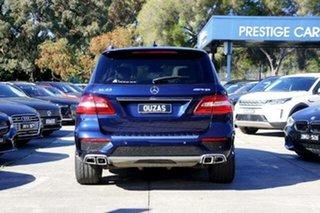 2013 Mercedes-Benz M-Class W166 ML63 AMG SPEEDSHIFT DCT Cavansite Blue 7 Speed