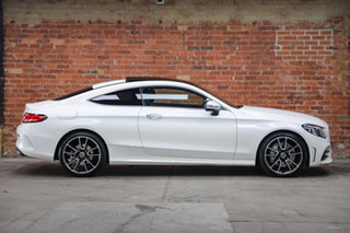 2020 Mercedes-Benz C-Class C205 801MY C300 9G-Tronic Diamond White 9 Speed Sports Automatic Coupe