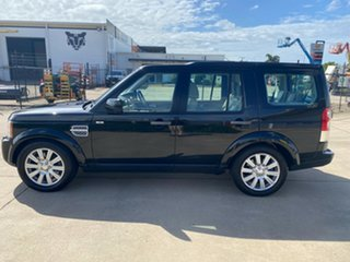 2013 Land Rover Discovery 4 Series 4 L319 MY13 SDV6 SE Black 8 Speed Sports Automatic Wagon