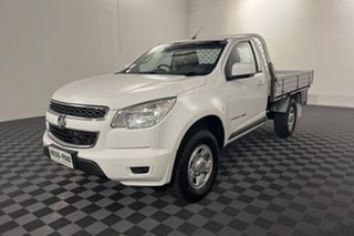 2014 Holden Colorado RG MY15 LS White 6 speed Automatic Cab Chassis