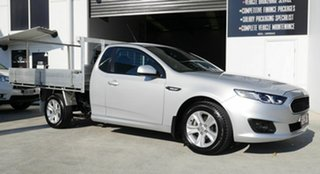2016 Ford Falcon FG X Super Cab Silver 6 Speed Sports Automatic Cab Chassis.
