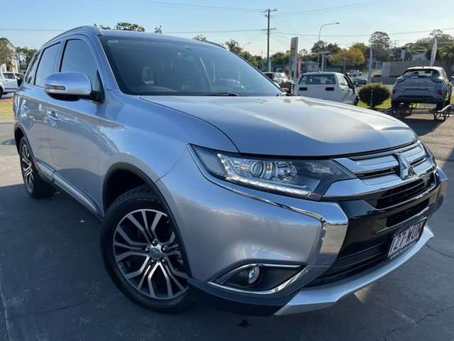 Used Mitsubishi Outlander ZK MY17 LS 2WD Gympie, 2016 Mitsubishi Outlander ZK MY17 LS 2WD Silver 6 Speed Constant Variable Wagon