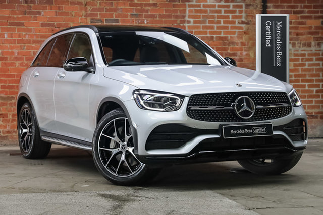 Certified Pre-Owned Mercedes-Benz GLC-Class X253 800+050MY GLC200 9G-Tronic Mulgrave, 2020 Mercedes-Benz GLC-Class X253 800+050MY GLC200 9G-Tronic Iridium Silver 9 Speed Sports Automatic