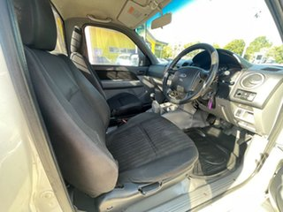 2009 Ford Ranger PJ XL Hi-Rider White 5 Speed Manual Cab Chassis.