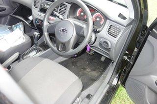 2010 Kia Rio JB MY10 S Black 4 Speed Automatic Hatchback