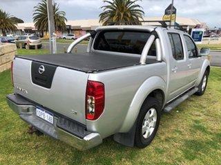 2011 Nissan Navara D40 RX Silver 5 Speed Automatic Utility.