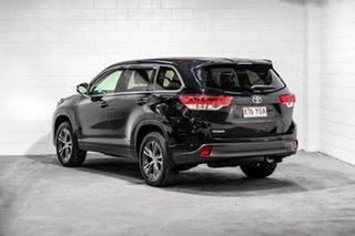 2016 Toyota Kluger GSU50R GX 2WD Black 8 Speed Sports Automatic Wagon.