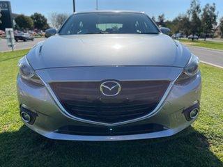 2015 Mazda 3 BM5438 SP25 SKYACTIV-Drive GT Silver 6 Speed Sports Automatic Hatchback.