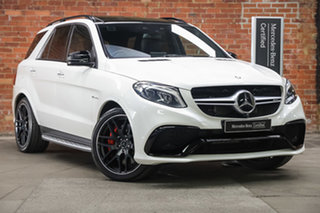 2017 Mercedes-Benz GLE-Class W166 807MY GLE63 AMG SPEEDSHIFT PLUS 4MATIC S White 7 Speed.
