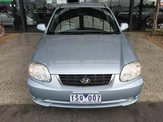 2005 Hyundai Accent LS 1.6 Blue 5 Speed Manual Hatchback.