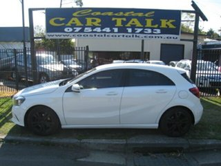 2017 Mercedes-Benz A180 176 MY18 White 7 Speed Automatic Hatchback.
