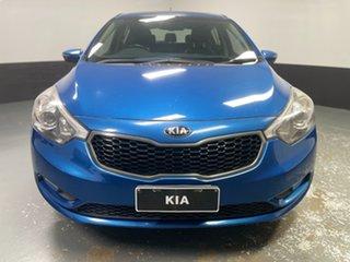 2014 Kia Cerato YD MY14 SLi Abyss Blue 6 Speed Sports Automatic Hatchback.