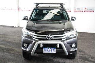 2015 Toyota Hilux GUN126R SR5 (4x4) Graphite 6 Speed Automatic Dual Cab Utility
