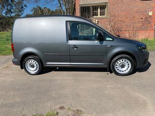2018 Volkswagen Caddy 2KN TSI220 Grey Sports Automatic Dual Clutch Van.